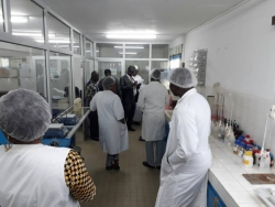 Performance audit missions in 10 water testing laboratories in west africa