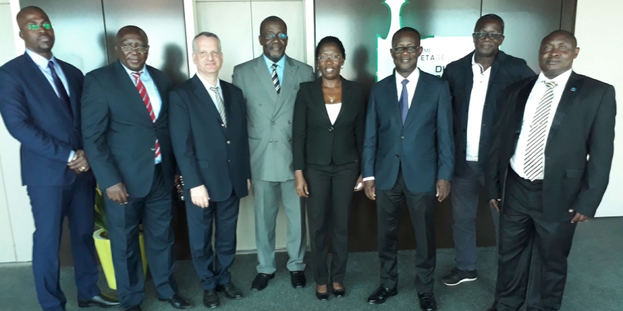 A Delegation Of Afwa Executive Directory Paid Visit To The Managing Director Of The Côte D'Ivoire's Water Supply Utility (SODECI)