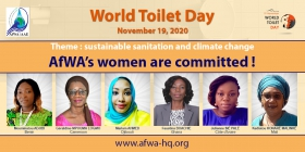 """We all have a joint responsibility to build sustainable, safe, accessible, affordable and culturally acceptable toilets"""