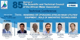 Come and discover the innovative technologies of WASH sector on November 16, 2020!