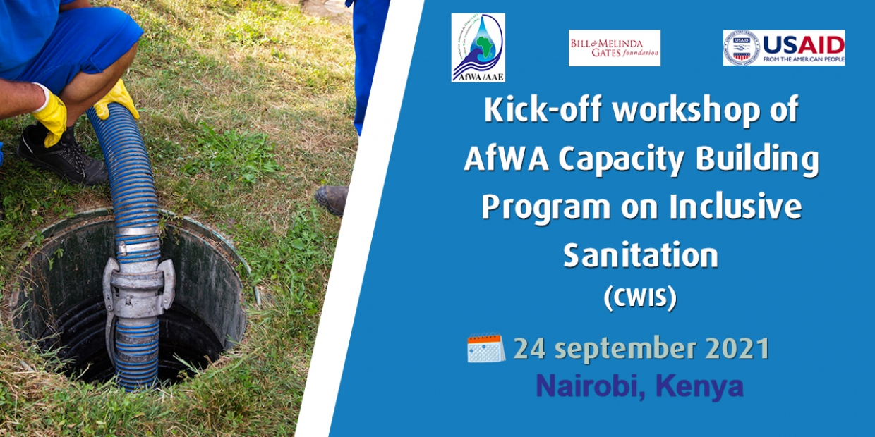 AfWA is launching its Citywide Inclusive Sanitation Programme in Kenya