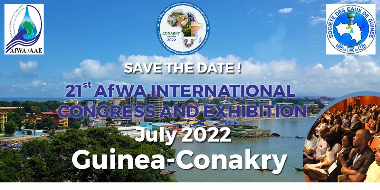 The 21st AfWA International Congress and Exhibition of Guinea Conakry 2022 is postponed to July 2022