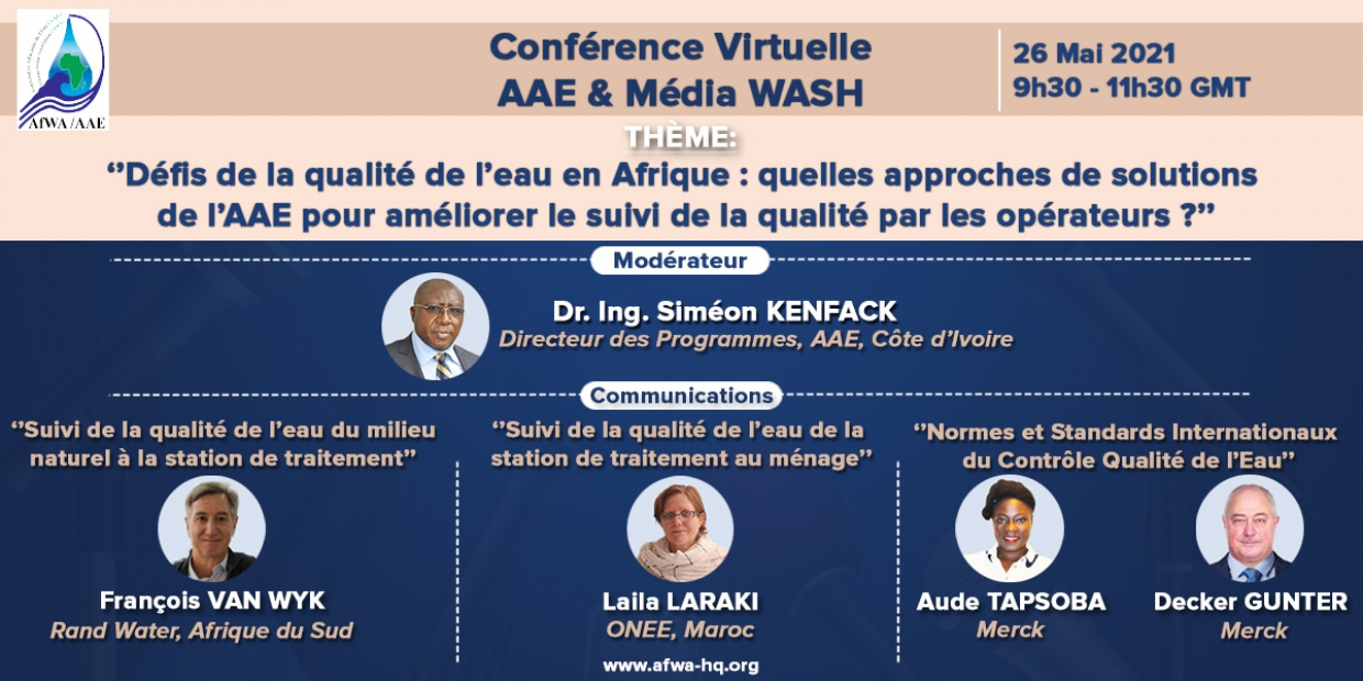 Conférence virtuelle AAE-Media WASH